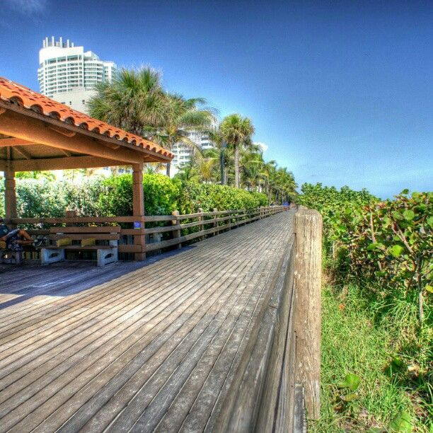 Miami Beach Boardwalk in Miami Beach, FL