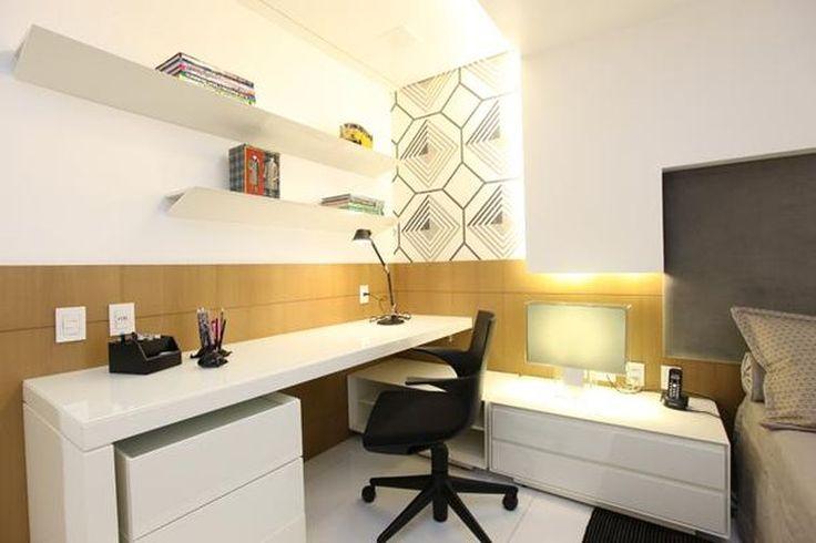 Home office assinado por Rodrigo Maia.