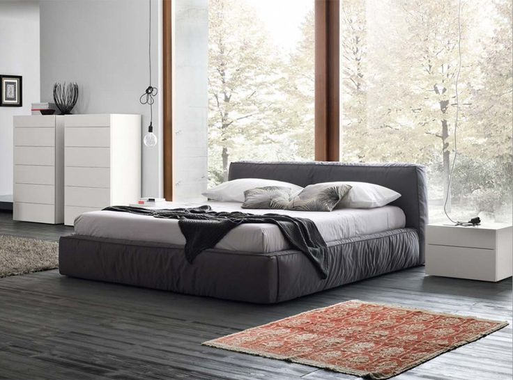 Twist Upholstered Platform Bed by Rossetto - $1,875.00