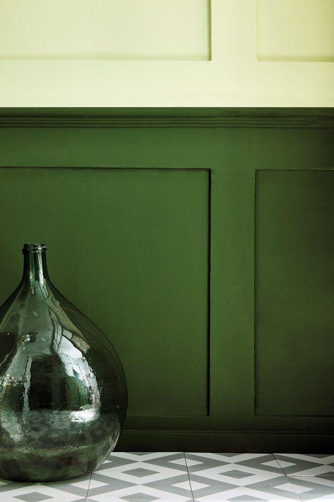 Le nuancier vert de Little Greene   Couleurs de peinture ...