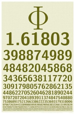 Pi is to phi as Euclidian geometry is to Non-Euclidian