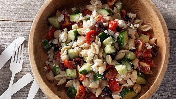 Greek+Pasta+Salad