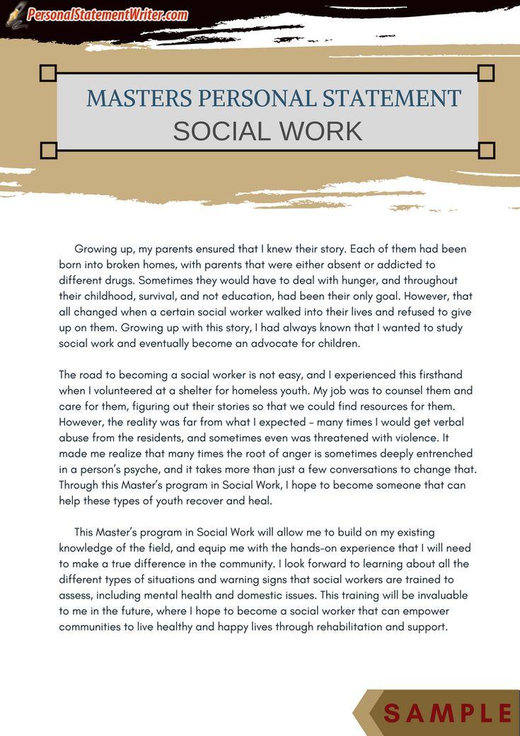 grad school resume social work example