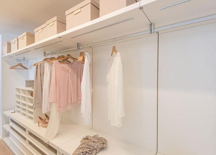 New Ein individuell auf den jeweiligen Raum angepasster begehbarer Kleiderschrank ist ein Unikat das handwerklich