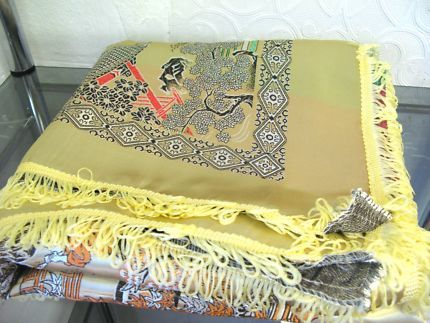 $200 CHINESE Oriental Silk Embroidery GOLD Tapestry Text 0411691171 or email info@bitspencer.com