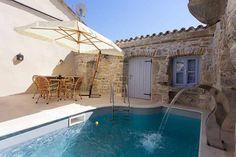 Kroatien Istrien (Nahe Krbune) - Romantisches Ferienhaus für 4 Personen Innenhof mit Pool Ref. 160284-20