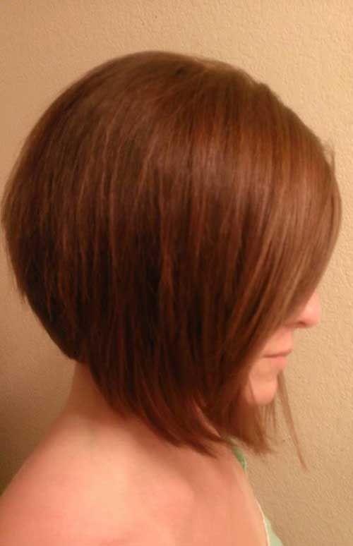 7. Empilés Bob Coupe de cheveux