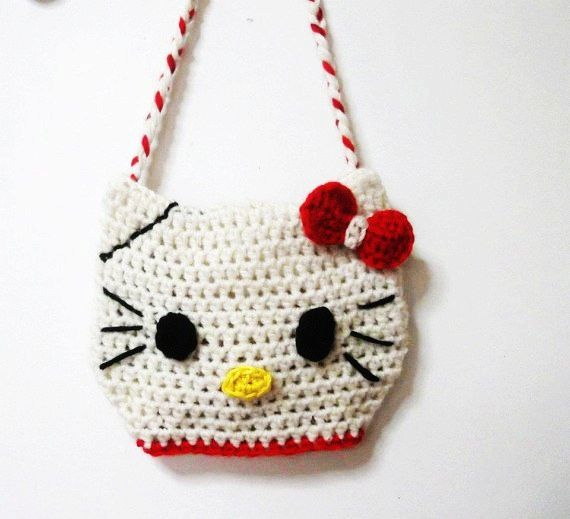 357 best images about CROCHET HELLO KITTY on Pinterest Free pattern, Hello ...