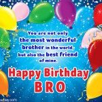 Free Online Birthday Ecard for Brother.