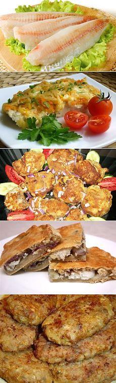 45 рецептов блюд из минтая / Простые рецепты