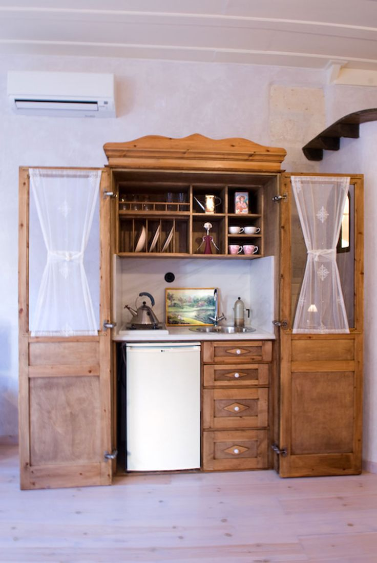 www.anassa-crete.gr Anassa Historical House #villa #historical_house #crete #rethymno #greece #vacation_rental #private #luxurious_accommodation #holidays #summer_in_Crete #kitchenette
