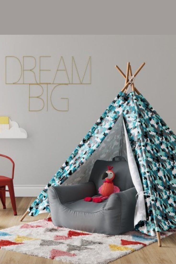 Tents Digi Camo Pillowfort Baby Room Decor Decorating Small Spaces Nursery Decor