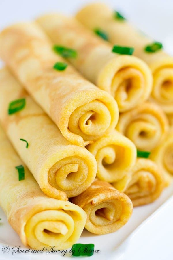 Delicate and savory, these cheese crepes, made with extra sharp cheddar cheese, will be your favorite alternative to sweet crepes.