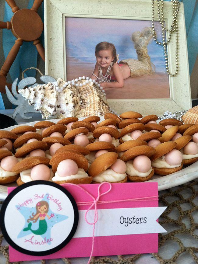 Little Mermaid - cute food ideas