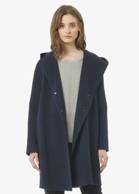 Vince Coats (hooded with shawl drapery)