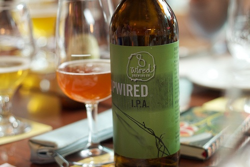 8 Wired - Hopwired IPA  Probably the first craft beer that I had which was given to me by my brother. Absolutely fantastic. Changed the way I thought about beer. Really the beginning of my craft beer journey.