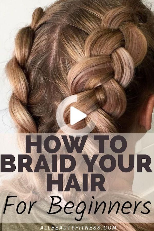 Hoe Je Haar Vlecht Zelfs Als Je Een Beginner In 2020 Thick Hair Styles Easy Hairstyles For Long Hair Braiding Your Own Hair