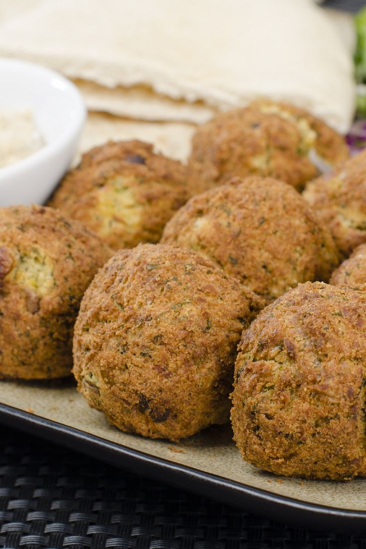 Sean's Falafel And Cucumber Sauce Recipe — Dishmaps