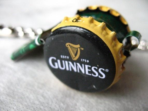 Guinness Irish Luck  Whistle by BottleCapWhistles on Etsy, $16.00