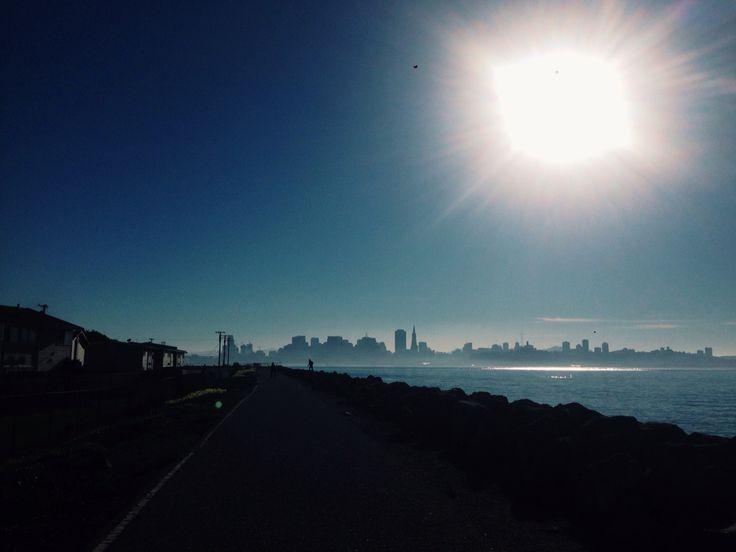 Foggy city..San Francisco