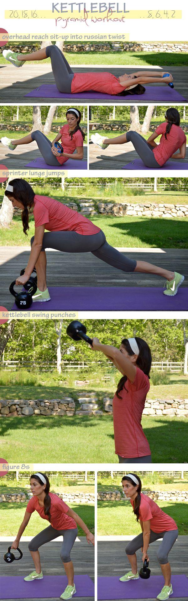 Kettlebell Pyramid Workout