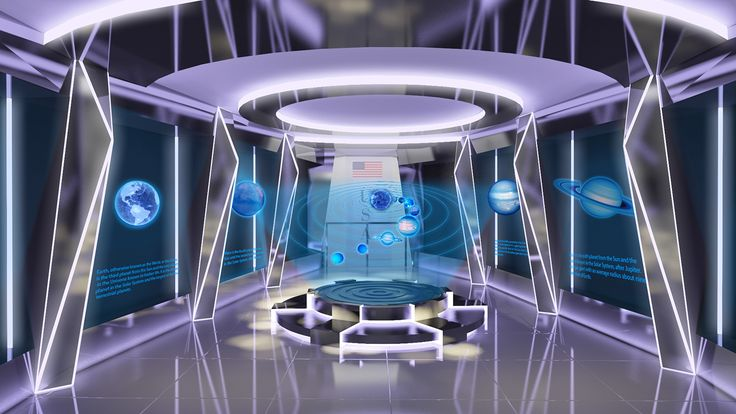 """Check out my @Behance project: """"Exhibition Design - Astronomy Science and Tech... 2"""