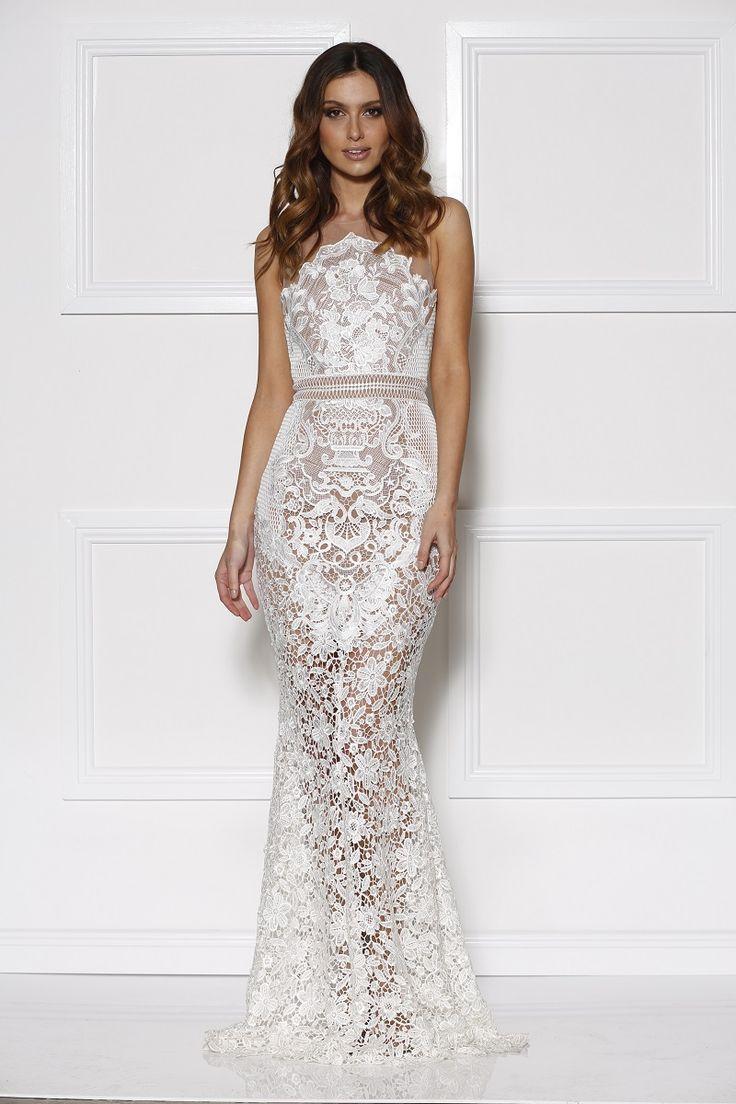 Grace & Hart - Renaissance Gown White