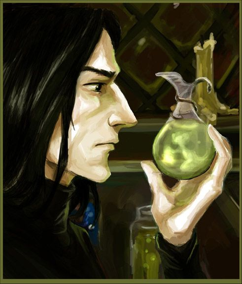 The Potion Master by Linnpuzzle on DeviantArt