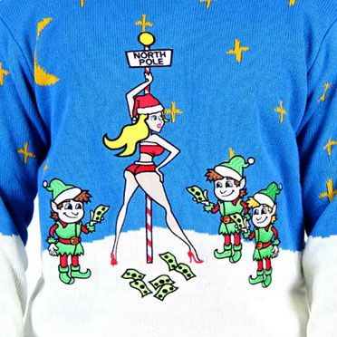 Ugly Christmas Sweater | Funny, Lightup, Santa, Reindeer Ugly ... →follow← ❄☃ Ugly Xmas Sweater Party ❄☃ @ ★☆Danielle ✶ Beasy☆★