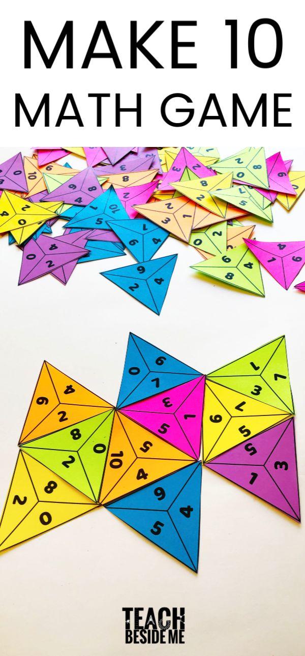 Make Ten~ Addition Math Recreation