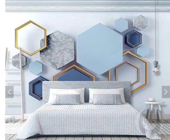 Wall mural abstraction, wallpaper mural, wallpaper for bedroom, removable wallpaper mural for bedroom, wall decor, home decor