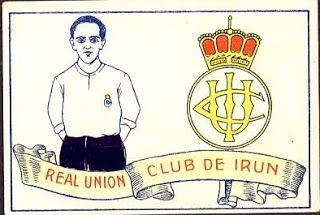 Real Unión Club de Irún. Temporada 1928-29. Cromos Amatler.
