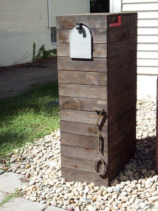 custom mailbox dent this hoodlums para el hogar. Black Bedroom Furniture Sets. Home Design Ideas