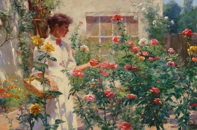 Gregory Frank Harris - Printre trandafiri