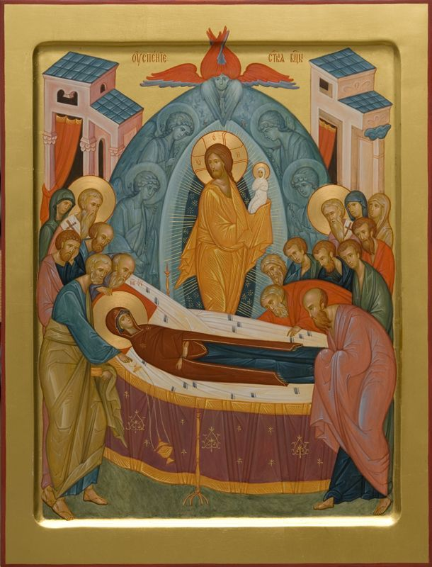 Icons and Shrouds of the Dormition of the Mother of God    See all: https://catalog.obitel-minsk.com/icons-prav/feast-day-icons.html    #Icons #CatalogOfGoodDeeds #Theotokos #Iconography #OrthodoxIcon