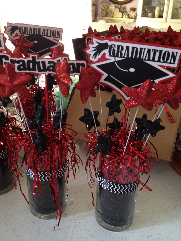 Graduation centerpiece ideas to make party