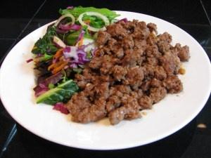 Paleo Periodical Sesame Beef Salad