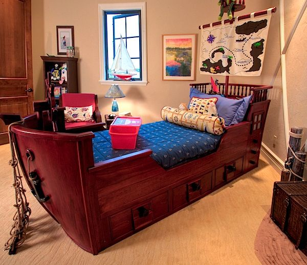 17 Best Ideas About Pirate Ship Bed On Pinterest