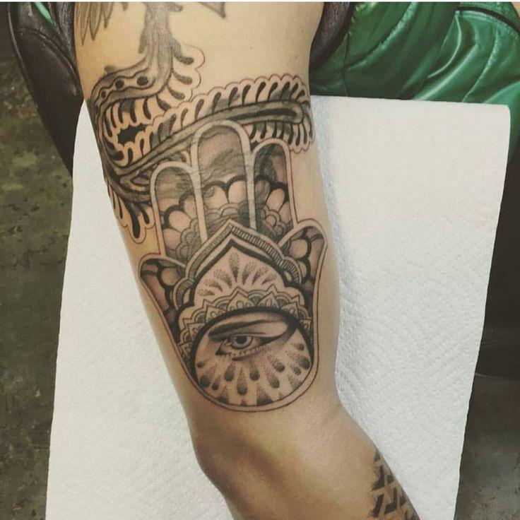 17 best ideas about hamsa tattoo placement on pinterest for Hamsa elephant tattoo