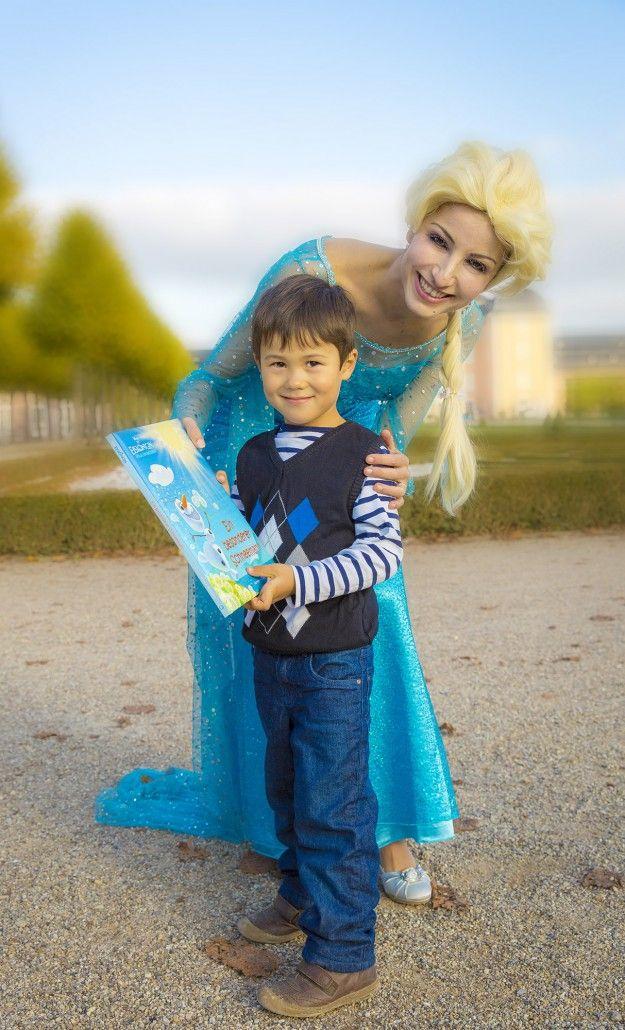 Schneekönigin Sie wünschen sich eine echte Märchenprinzessin als Überraschung auf Ihrer Feier?