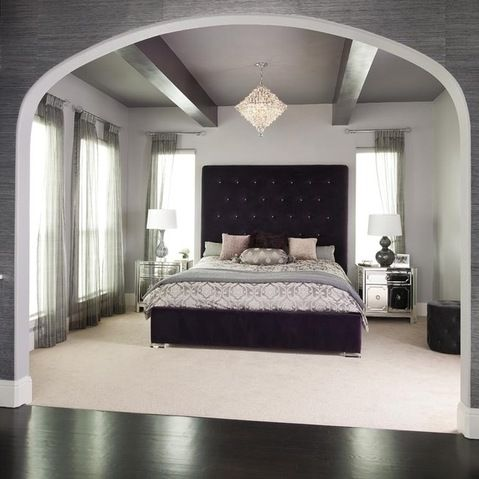 Modern Bedroom Purple 137 best purple bedrooms images on pinterest | architecture, home