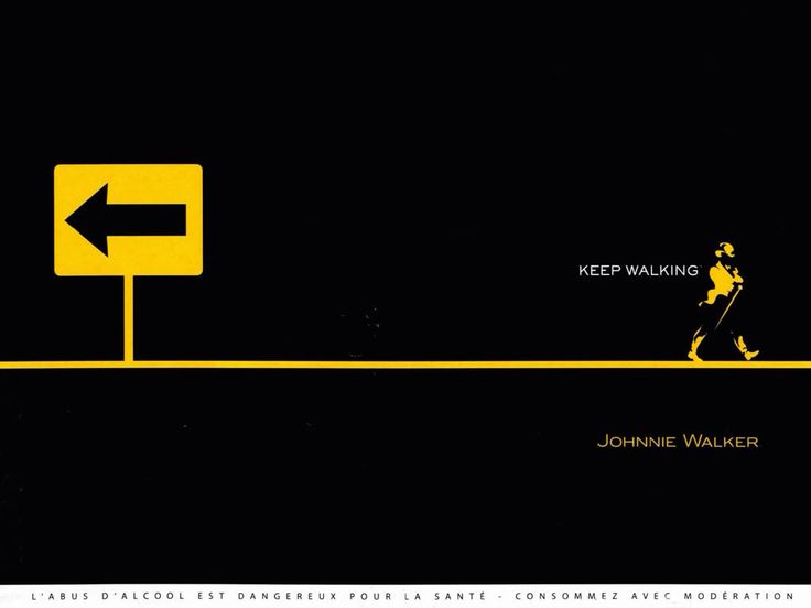 Johnnie Walker - keep walking campaign