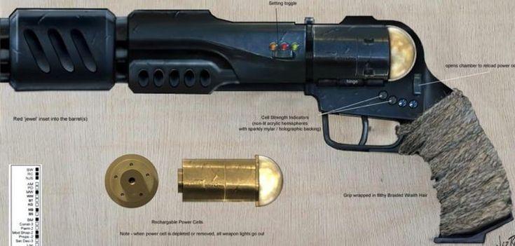 Stargate Atlantis - Ronon's Pistol