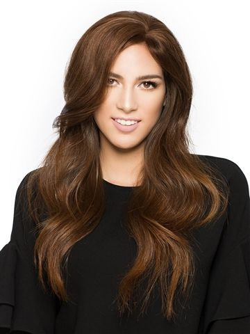 Fringe Line H/T by Wig Pro: The Fringe hairpiece isn't just for those experiencing hair loss at the crown anymore. It also adds instant volume at the top, trimmed for commitment free bangs or beautiful face framing layers.
