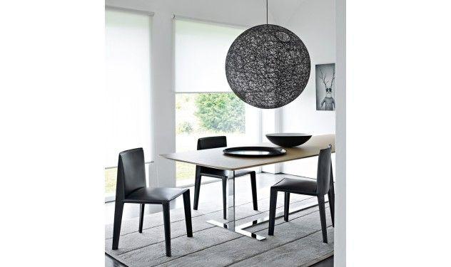B&B Italia Doyl eetstoel, lamp Moooi | Van der Donk interieur