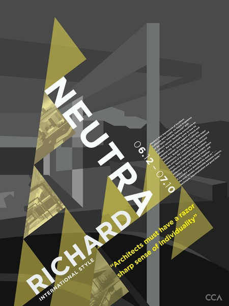 Marvelous CCA Architecture Posters By Lisa Feng, Via Behance