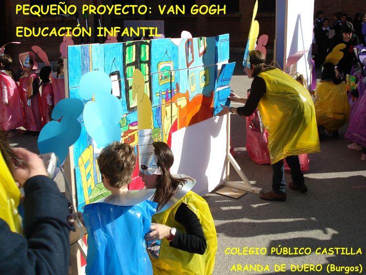 VAN GOGH EN INFANTIL by MVictoriaAzcona via slideshare