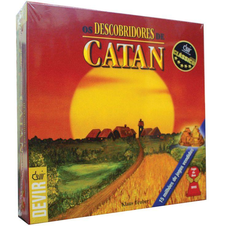 Jogo de Tabuleiro Os Descobridores de Catan