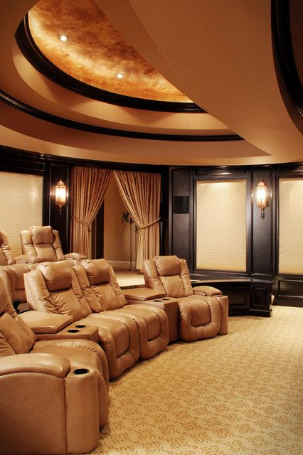 109 best images about basement home theater ideas on pinterest wine cellar pool tables and - Basement theater ideas ...