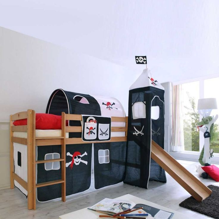 ber ideen zu kinderhochbett mit rutsche auf. Black Bedroom Furniture Sets. Home Design Ideas